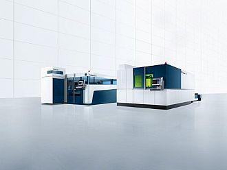 System laserowy 3D TruLaser Cell 3000 z laserem TruDisk 3001