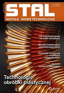 STAL Metale & Nowe Technologie wydanie nr 3-4/2015