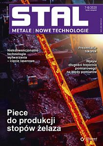 STAL Metale & Nowe Technologie wydanie nr 7-8/2020