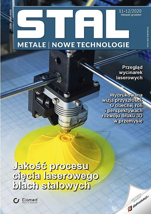 STAL Metale & Nowe Technologie wydanie nr 11-12/2020