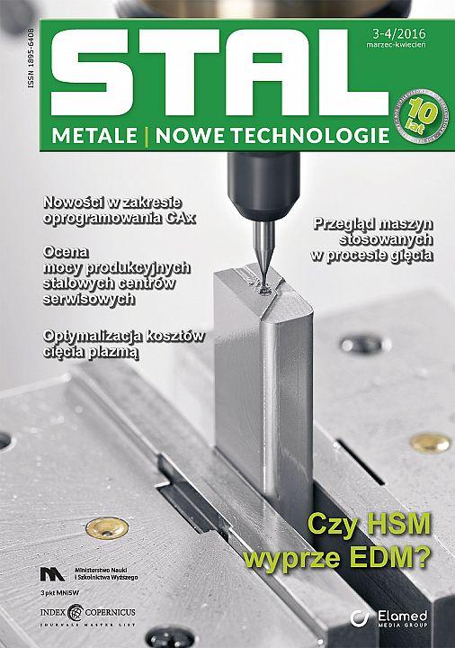 STAL Metale & Nowe Technologie wydanie nr 3-4/2016