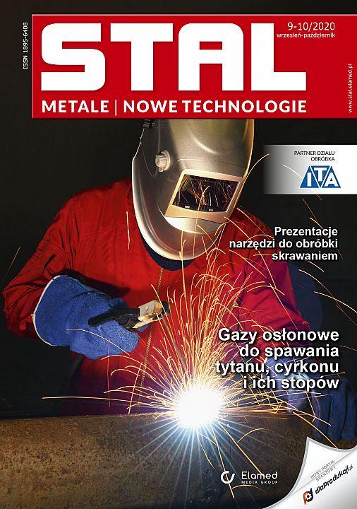 STAL Metale & Nowe Technologie wydanie nr 9-10/2020