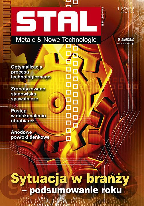 STAL Metale & Nowe Technologie wydanie nr 1-2/2012