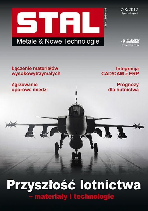STAL Metale & Nowe Technologie wydanie nr 7-8/2012