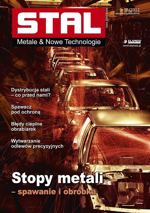 STAL Metale & Nowe Technologie wydanie nr 9-10/2012