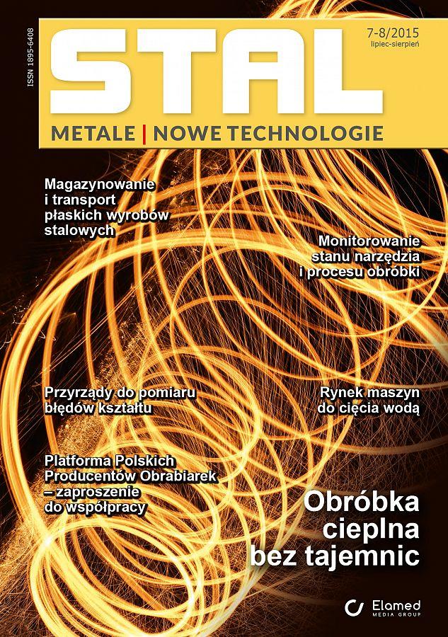 STAL Metale & Nowe Technologie wydanie nr 7-8/2015