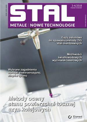 STAL Metale & Nowe Technologie wydanie nr 3-4/2018