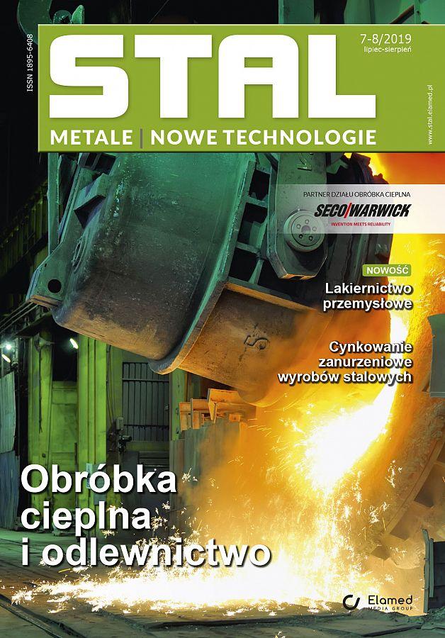 STAL Metale & Nowe Technologie wydanie nr 7-8/2019