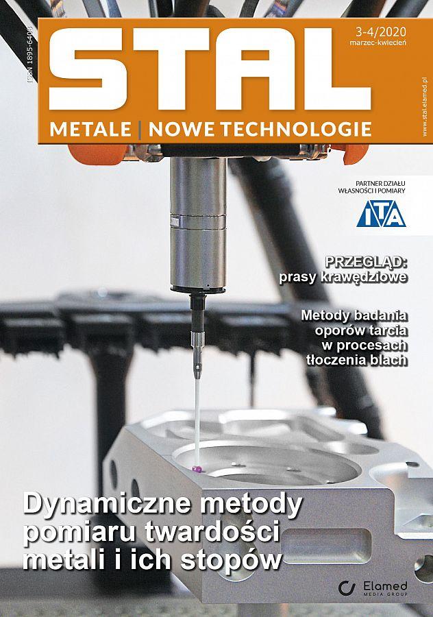 STAL Metale & Nowe Technologie wydanie nr 3-4/2020