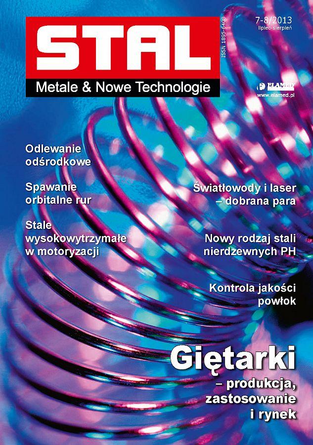 STAL Metale & Nowe Technologie wydanie nr 7-8/2013